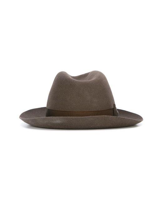 Шляпа-Панама Borsalino                                                                                                              коричневый цвет