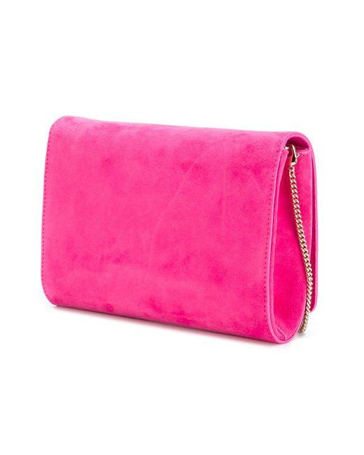Клатч Palazzo Medusa Versace                                                                                                              розовый цвет