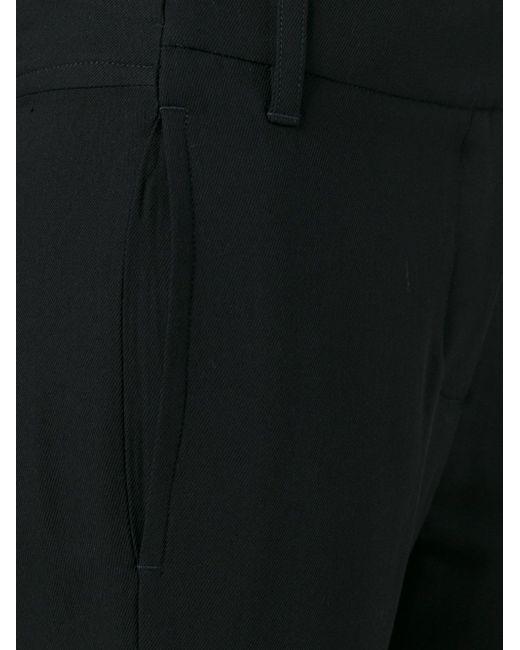 Укороченные Брюки Ann Demeulemeester                                                                                                              чёрный цвет