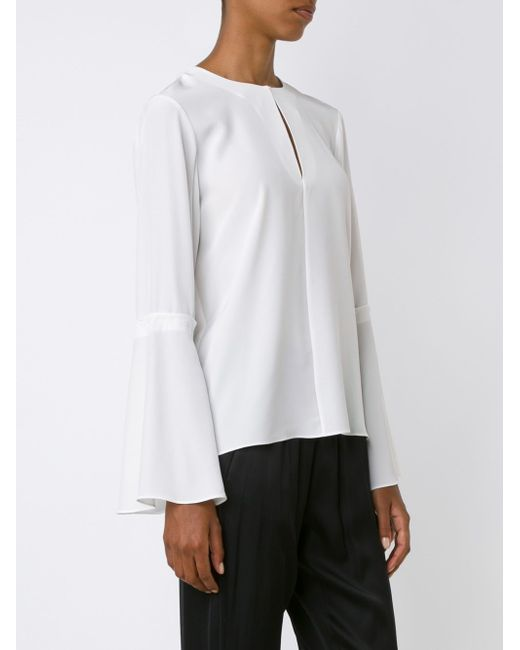 Блузка Heavy Tibi                                                                                                              белый цвет