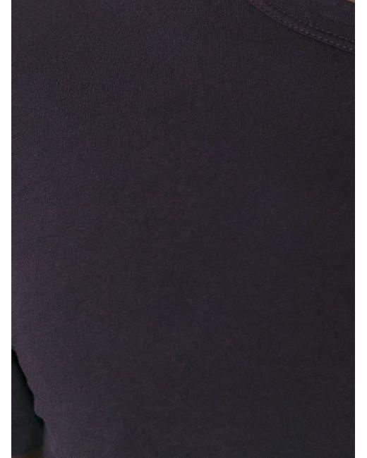 Футболка С Круглым Вырезом James Perse                                                                                                              коричневый цвет
