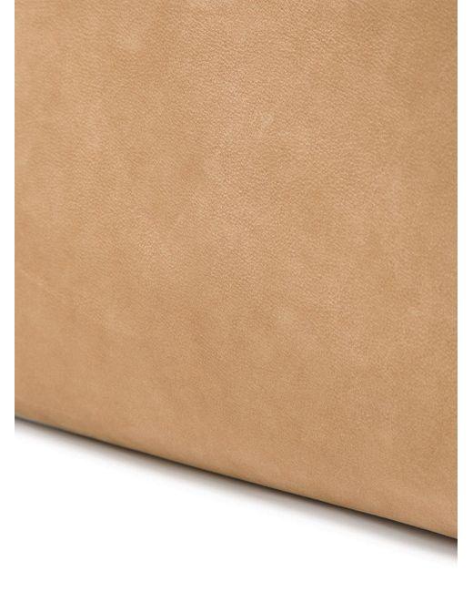 Сумка Со Съемной Подкладкой Maison Margiela                                                                                                              коричневый цвет