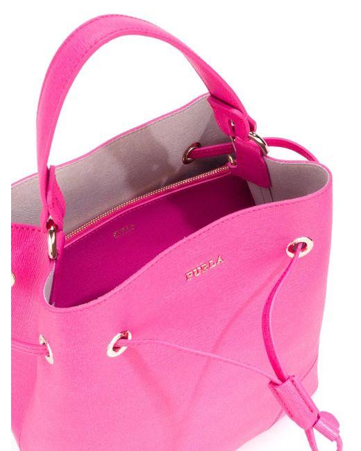 Сумка-Мешок Furla                                                                                                              розовый цвет