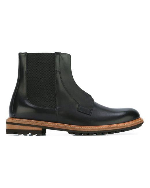 Flap Ankle Boots Dolce & Gabbana                                                                                                              чёрный цвет