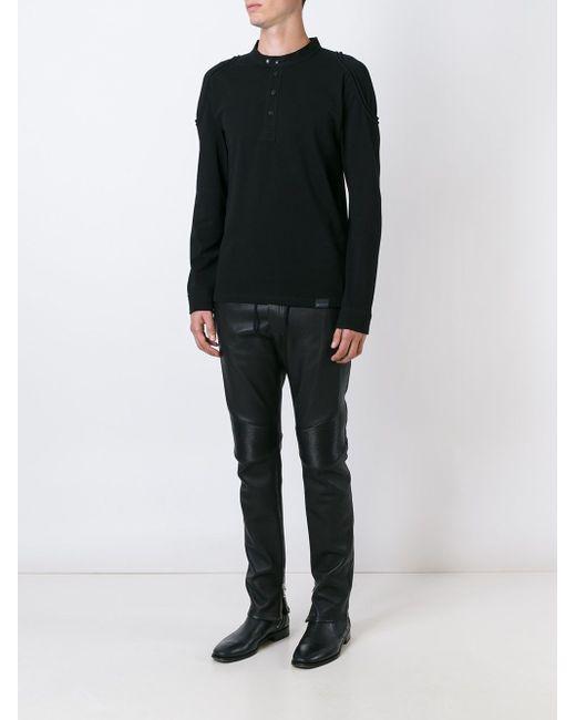 Рубашка-Поло Shoreham Belstaff                                                                                                              чёрный цвет