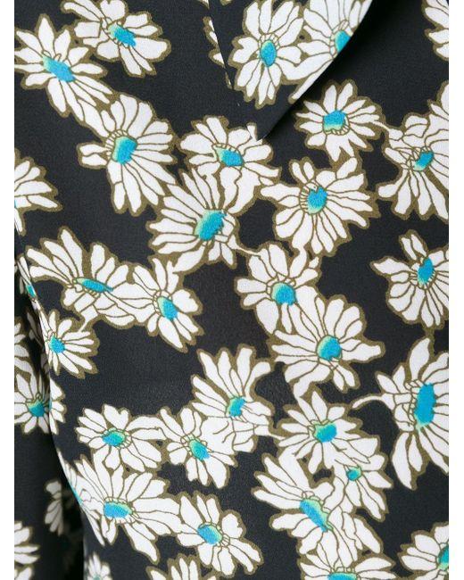 Рубашка С Цветочным Узором Sonia By Sonia Rykiel                                                                                                              чёрный цвет