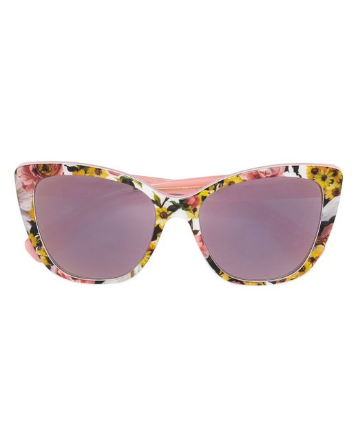 Cat Eye Frame Sunglasses Dolce & Gabbana                                                                                                              многоцветный цвет