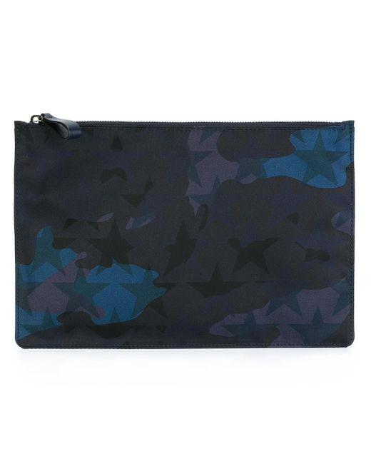 Клатч Camustars Valentino                                                                                                              синий цвет