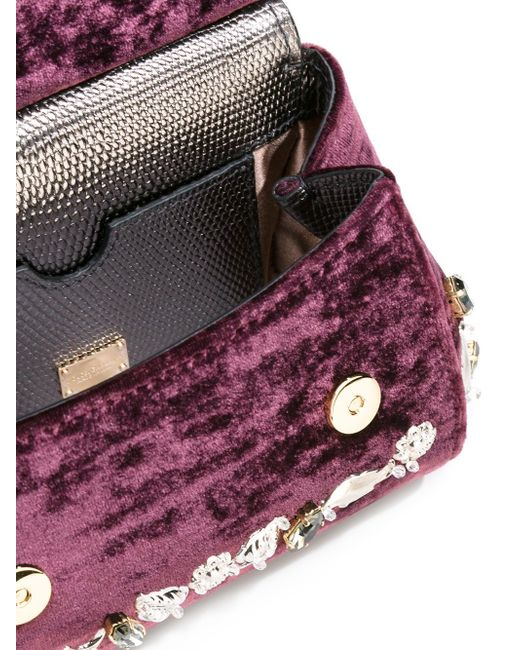 Сумка-Тоут Sicily Dolce & Gabbana                                                                                                              розовый цвет