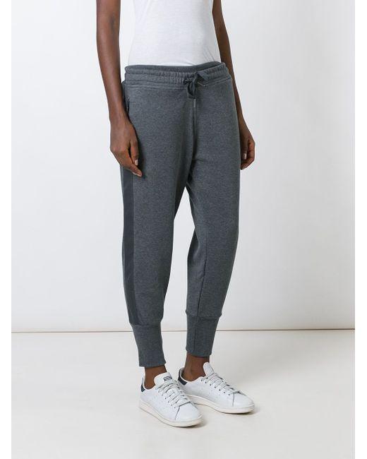 Спортивные Брюки Для Йоги Adidas By Stella  Mccartney                                                                                                              серый цвет