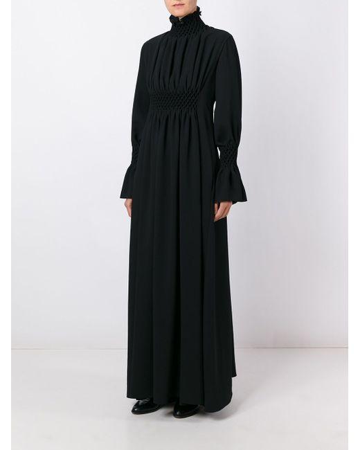Длинное Платье С Высоким Горлом Kenzo                                                                                                              чёрный цвет