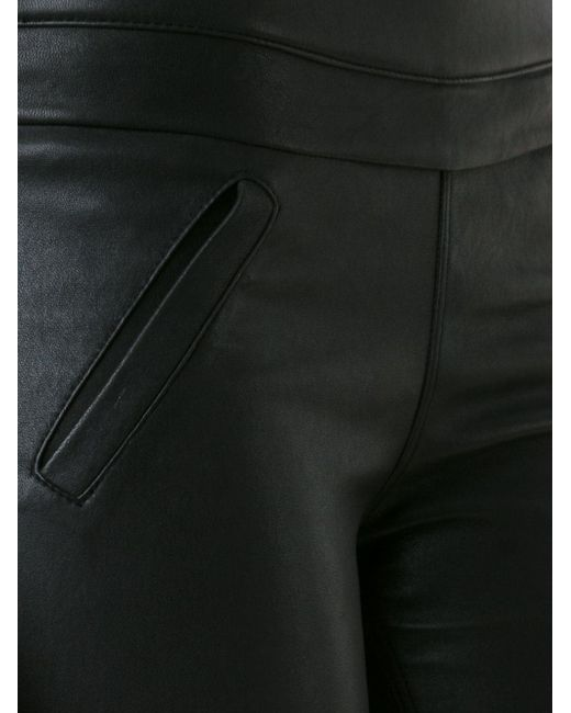 Sonia Leather Trousers RTA                                                                                                              чёрный цвет