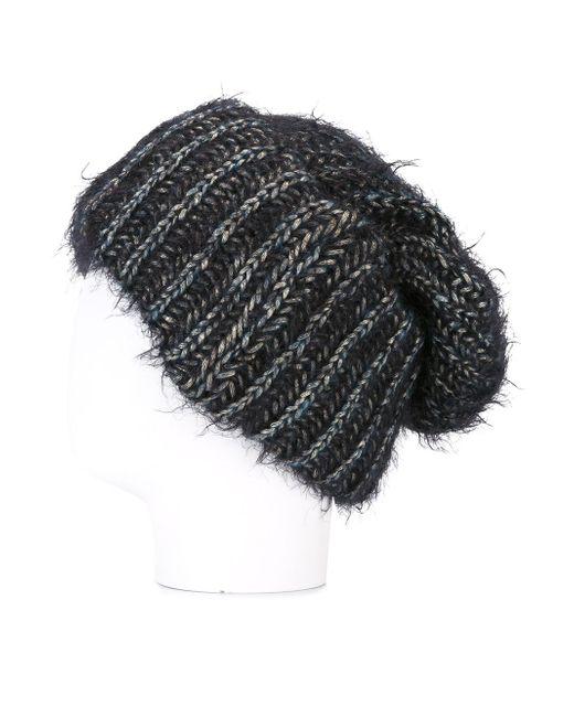 Шапка-Бини Beanieone SUPER DUPER HATS                                                                                                              чёрный цвет
