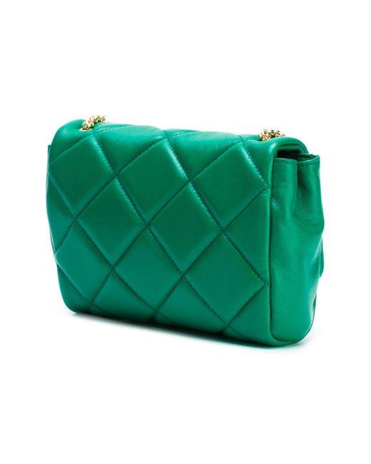 Vara Quilted Bag Salvatore Ferragamo                                                                                                              зелёный цвет
