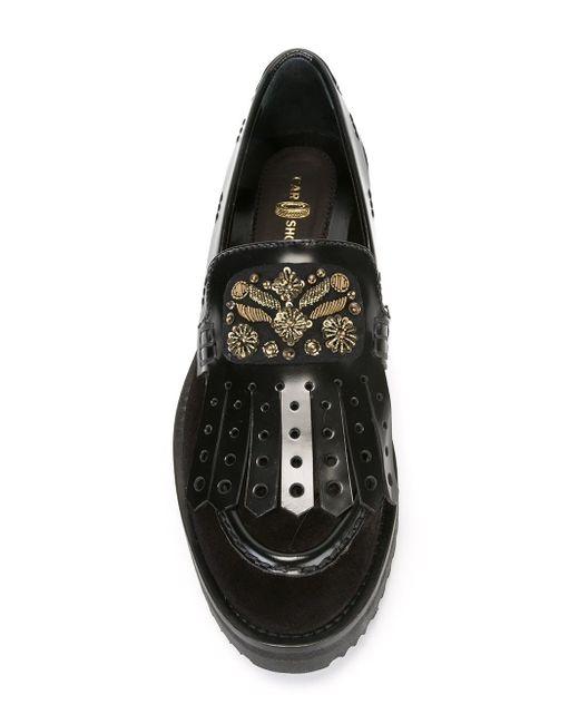 Декорированные Лоферы Carshoe                                                                                                              чёрный цвет
