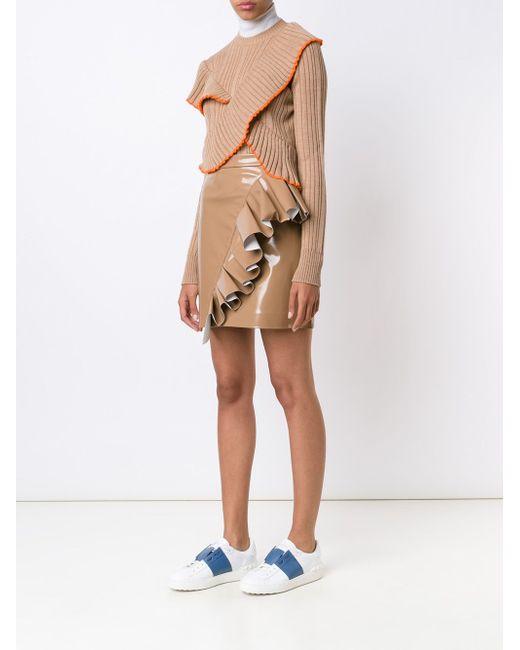Ruffled Jumper MSGM                                                                                                              Nude & Neutrals цвет