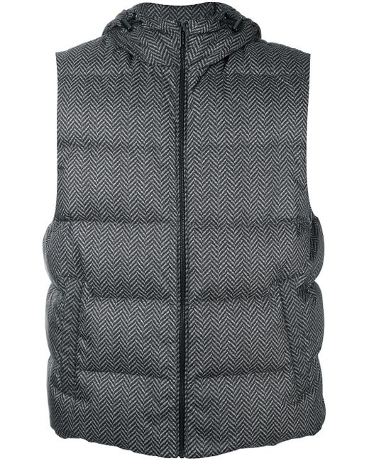 Hooded Padded Gilet Michael Kors                                                                                                              чёрный цвет