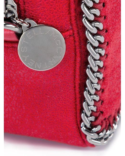Сумка Falabella На Молнии Stella Mccartney                                                                                                              красный цвет