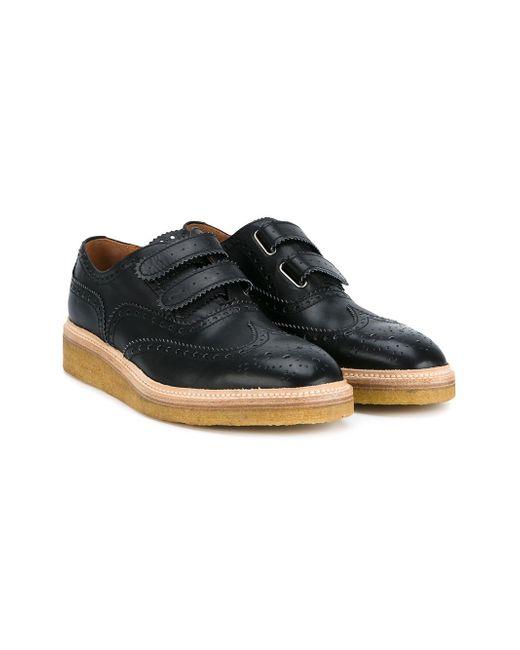 Sacramento Oxford Shoes WHF WEBER HODEL FEDER                                                                                                              чёрный цвет