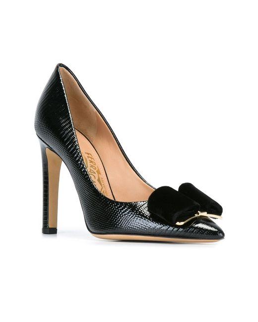 Туфли Fifi Salvatore Ferragamo                                                                                                              чёрный цвет