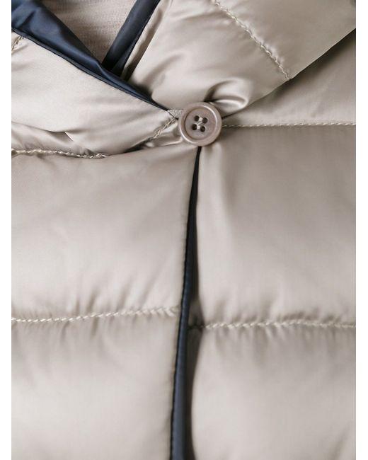 Стеганое Пальто С Капюшоном И Поясом 'S Max Mara                                                                                                              Nude & Neutrals цвет