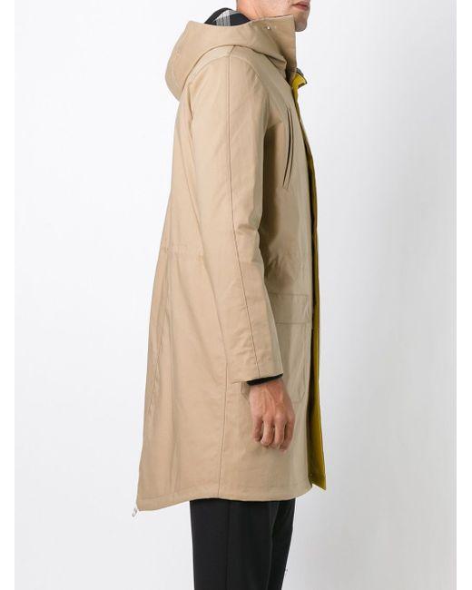 Пальто На Молнии С Капюшоном Raf Simons                                                                                                              Nude & Neutrals цвет