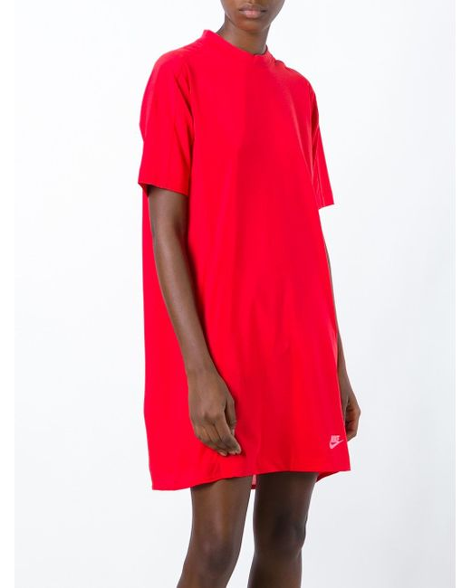 Платье-Футболка Nsw Nike                                                                                                              красный цвет