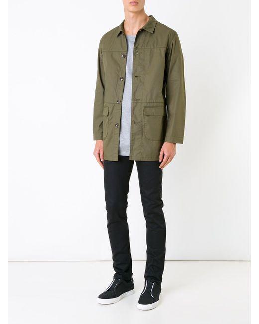 Supreme Coat Biro                                                                                                              зелёный цвет