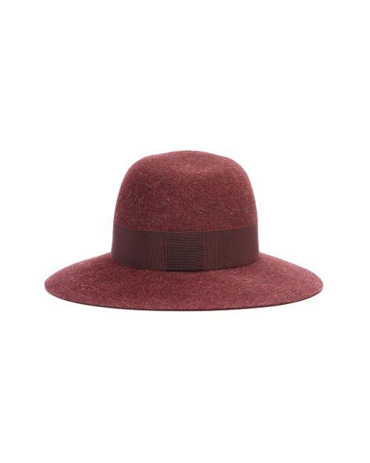 Шляпа Virginie Maison Michel                                                                                                              красный цвет