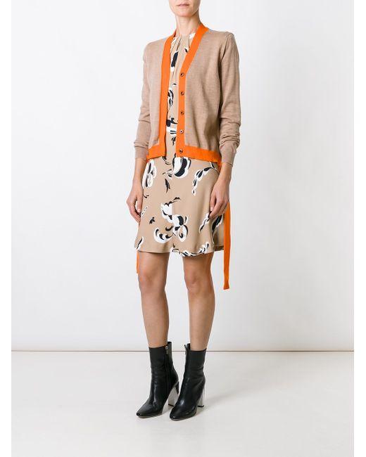 Colour Block Cardigan MSGM                                                                                                              Nude & Neutrals цвет