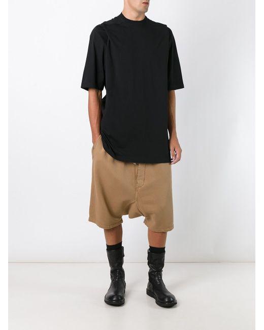 Casual Drop-Crotch Shorts RICK OWENS DRKSHDW                                                                                                              Nude & Neutrals цвет