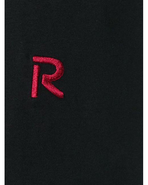 Colour Block T-Shirt Raf Simons                                                                                                              чёрный цвет