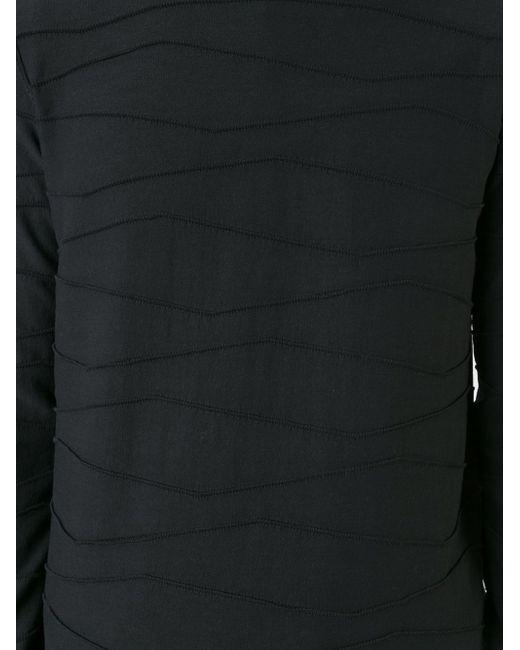 Толстовка Horizontal Seam Roberto Collina                                                                                                              чёрный цвет