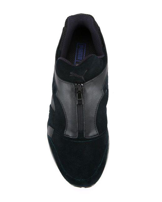 Кроссовки Disc Zip French Puma                                                                                                              чёрный цвет