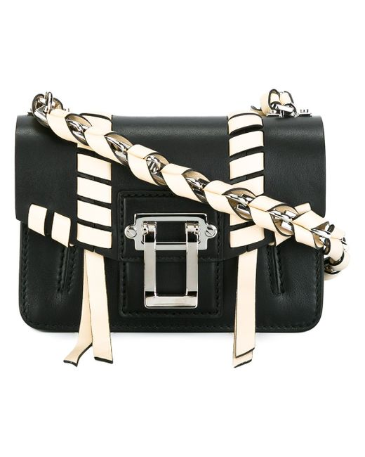 Hava Whipstitch Crossbody Bag Proenza Schouler                                                                                                              чёрный цвет