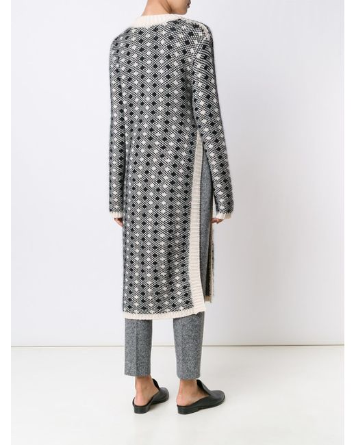Long V-Neck Tunic Creatures of the Wind                                                                                                              белый цвет