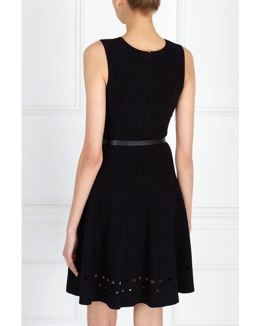 Однотонное Платье Issa London                                                                                                              чёрный цвет