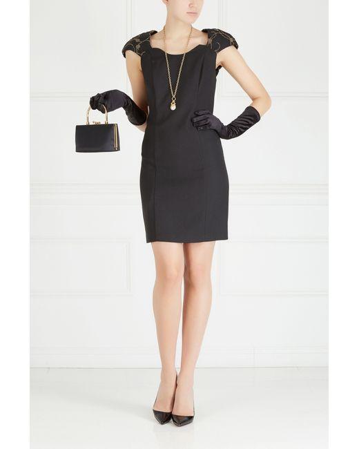 Однотонное Платье 90-Е Night Way                                                                                                              чёрный цвет