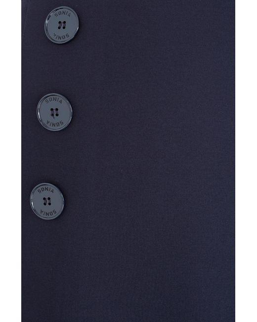 Однотонная Юбка Sonia By Sonia Rykiel                                                                                                              синий цвет