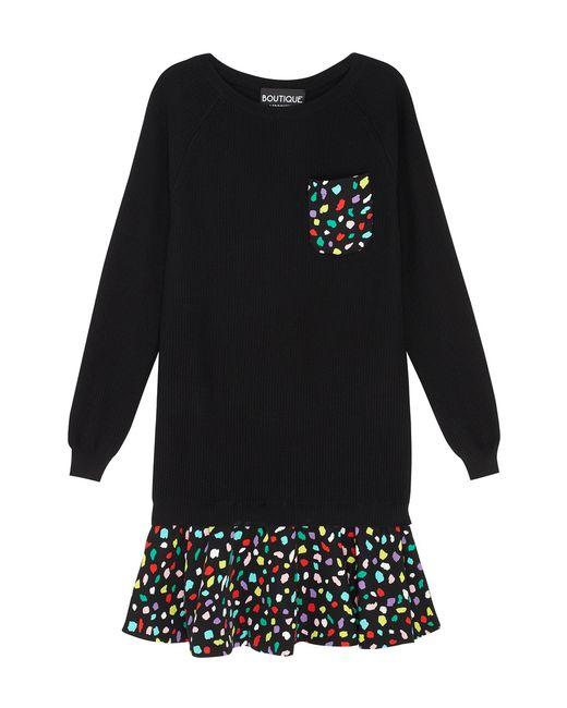Платье С Принтом BOUTIQUE MOSCHINO                                                                                                              многоцветный цвет