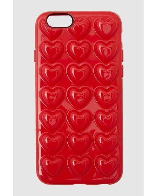 Чехол Для Iphone 6/6s Marc Jacobs                                                                                                              красный цвет