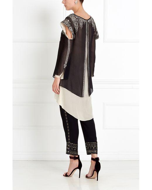 Шелковая Туника Asian Spirit                                                                                                              чёрный цвет