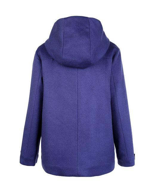 Шерстяное Пальто Dior Children                                                                                                              синий цвет