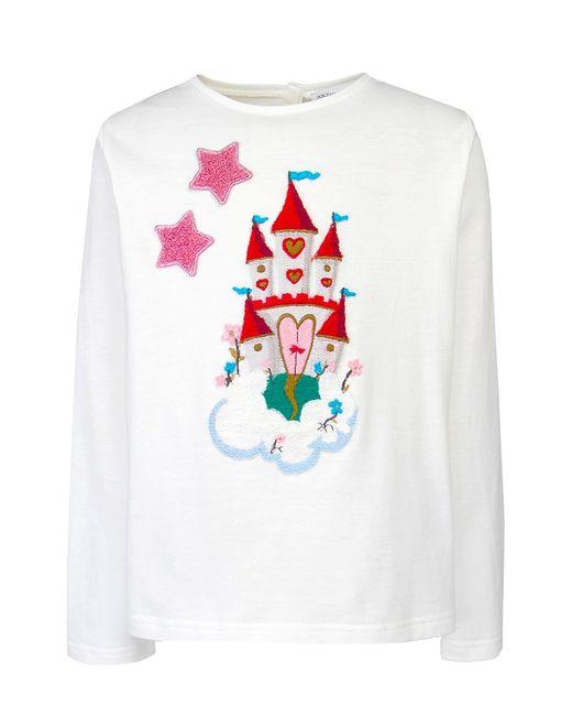 Хлопковый Джемпер Dolce&Gabbana Children                                                                                                              многоцветный цвет