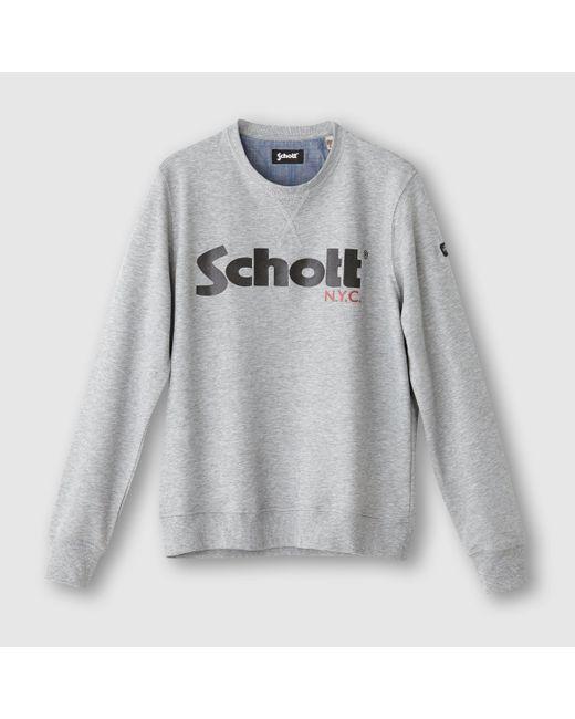 Schott | Мужские Серые Свитшот