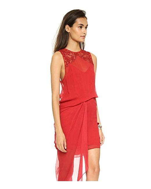 Платье Red Hot Party Free People                                                                                                              красный цвет