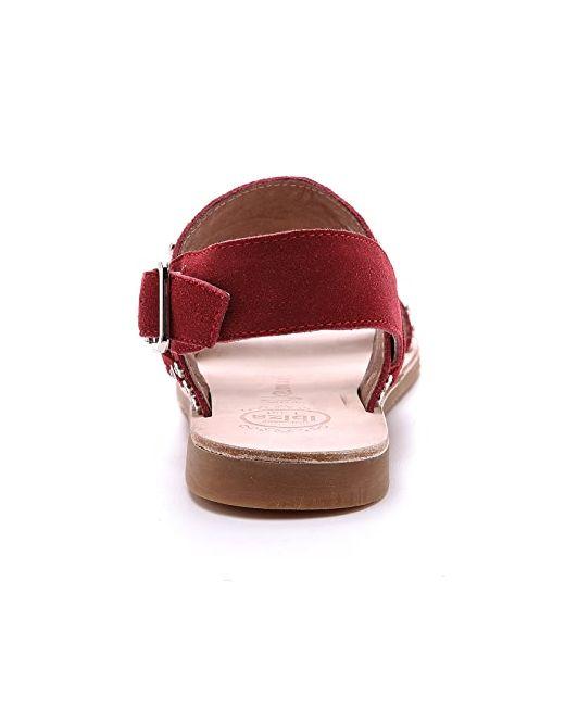 Замшевые Сандалии Patras С Декоративной Отделкой Jeffrey Campbell                                                                                                              красный цвет
