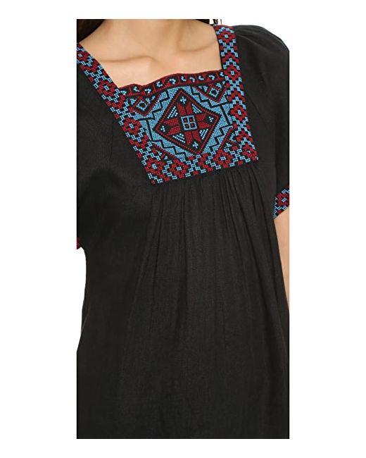 Платье С Вышивкой Wander Madewell                                                                                                              голубой цвет