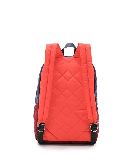 Стеганый Рюкзак Crosby С Цветными Блоками Marc by Marc Jacobs                                                                                                              красный цвет