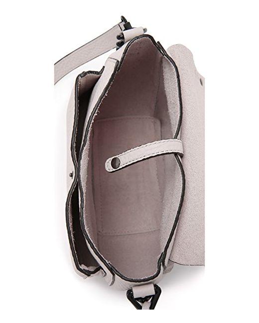 Седельная Сумка Без Подкладки Rebecca Minkoff                                                                                                              коричневый цвет